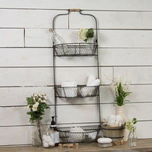 Metal Triple Wall Basket