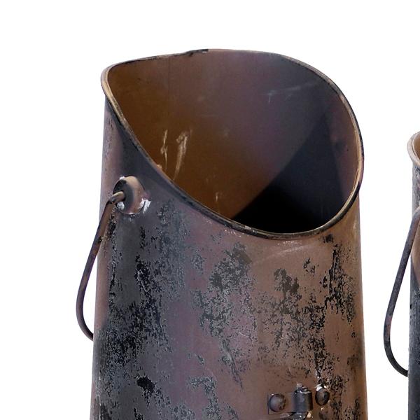 Planters - Vintage Cylinder Flower Pot Planters
