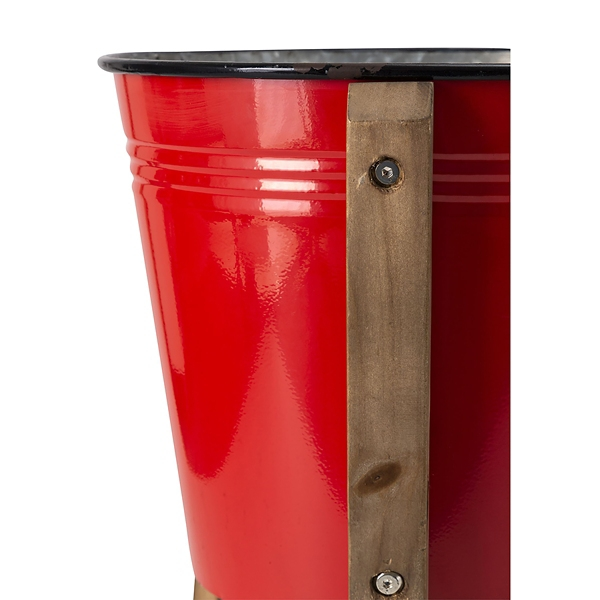 Planters - Large Red Farmstead Standing Planter