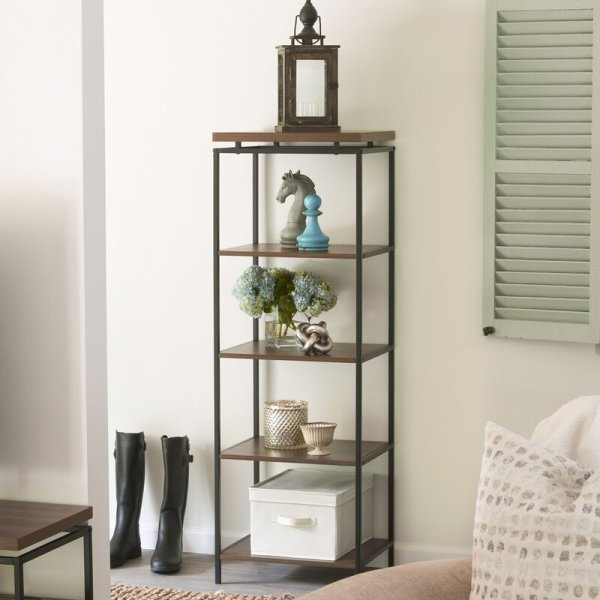addie-wholesale-floating-top-shelf-and-5-open-shelves-standard-bookcase