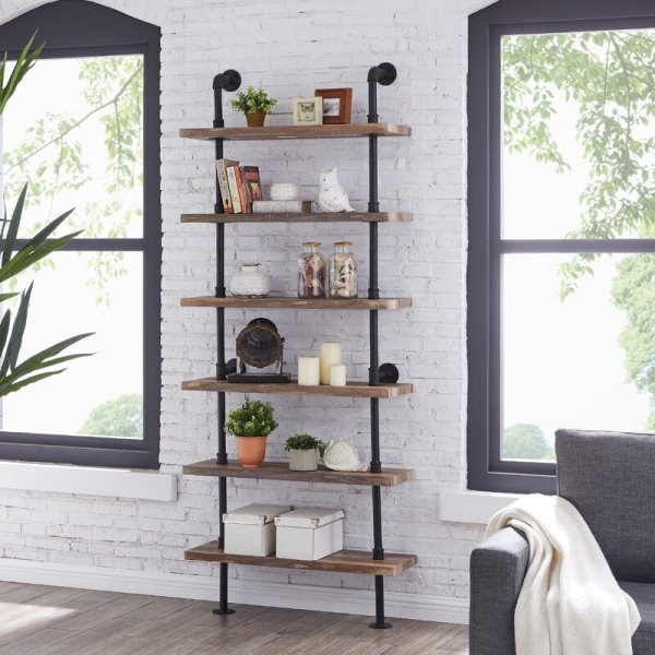 bianca-industrial-pipe-wall-mount-ladder-bookcase