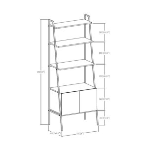 bobbie-rustic-style-ladder-bookcase-with-cabinet2