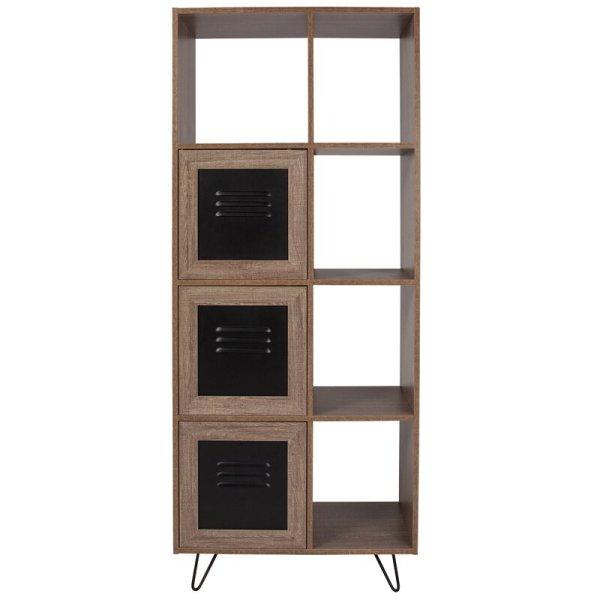 gillian-contemporary-industrial-cube-bookcase-including-three-enclosed-storage