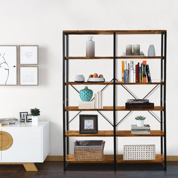 liliana-double-library-bookcase-with-12-open-shelves