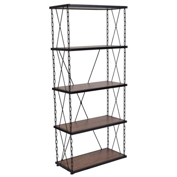 rafela-4-shelf-with-stylish-chain-frame-standard-bookcase1