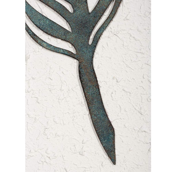 Home Antique Feather Wall Decor and Leaf Wall Decor Partial details 3