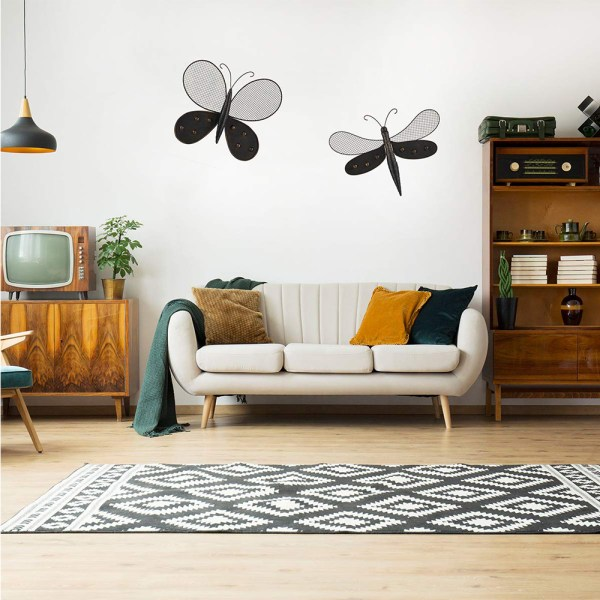 Butterfly Wall Decor and Dragonfly Wall Decor Real Shot 2