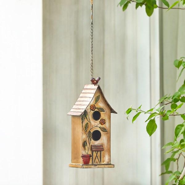 Outdoor Hanging Finch Birdhouses Real Shot 2