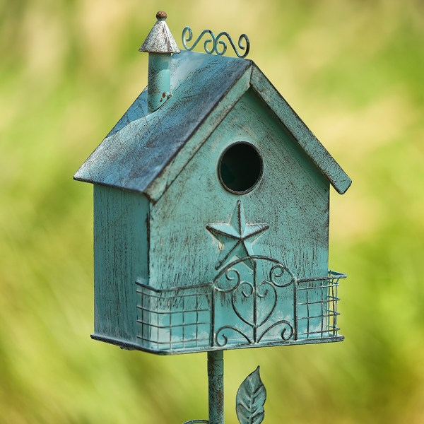Outdoor Birdhouses on Pole Real Shot 1