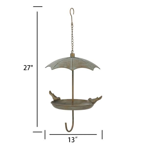 Hanging Rainproof Bird Feeders Dimensional Drawings