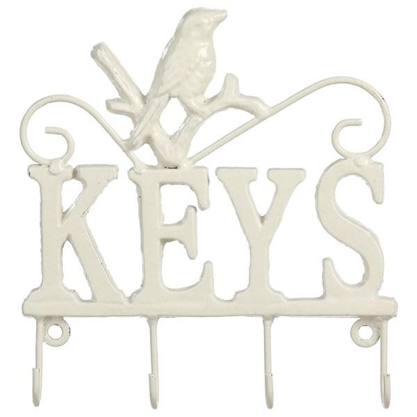 Modern White Animal Key Holder 2