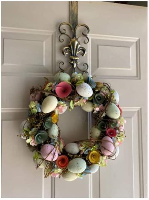 Wreath Hanger for Front Door Real shot