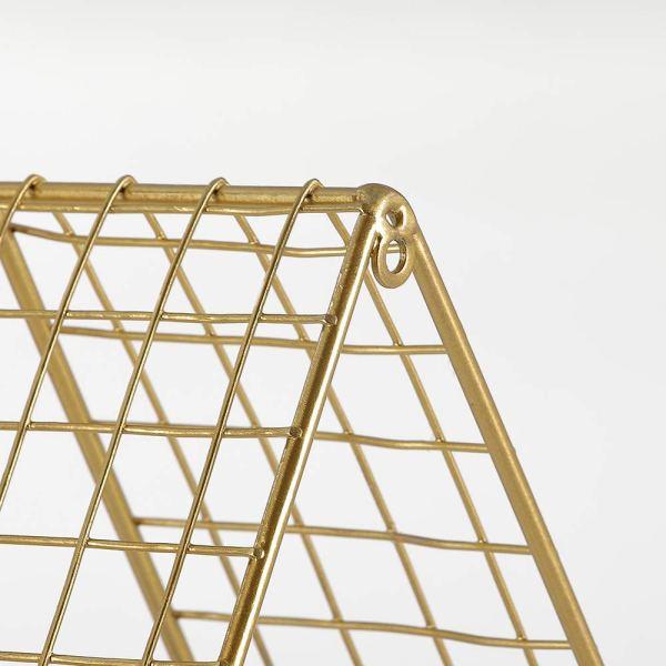 Triangular Wall Shelf Partial details 3