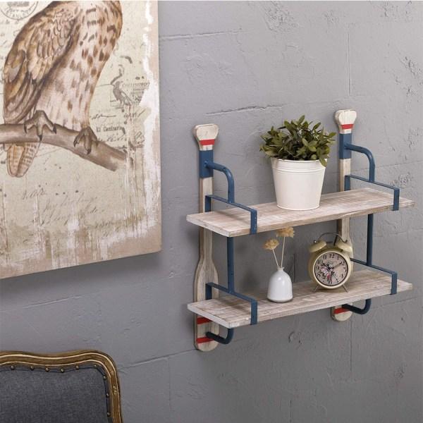 24inch Whitewash Wood Shelves Real shot 3
