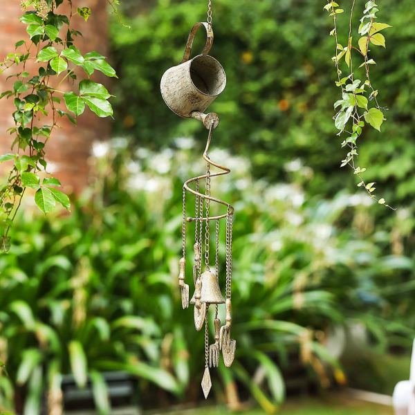 Outdoor Heavy-Duty Hanging Wind Chimes Real shot 2
