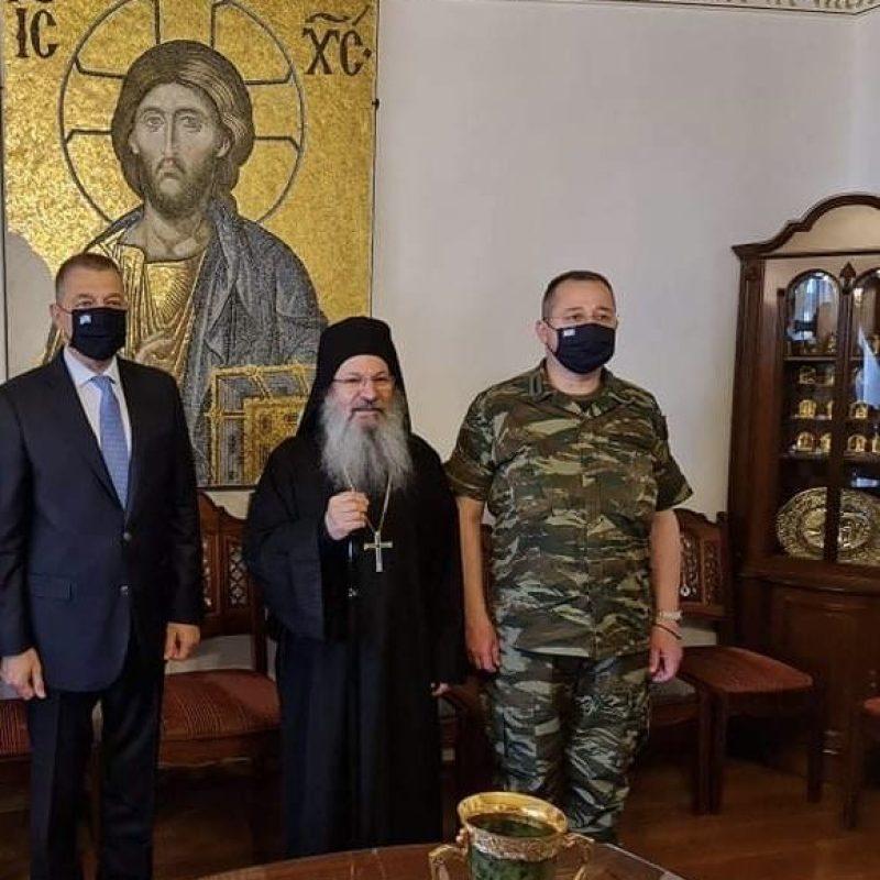 Επίσκεψη ΥΦΕΘΑ Αλκιβιάδη Στεφανή στο Άγιο Όρος