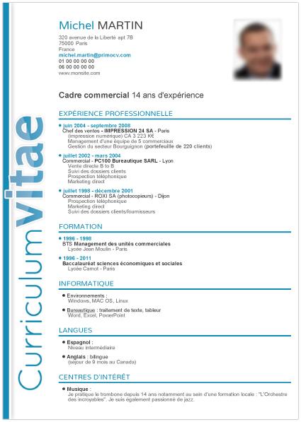 image logiciel modele cv lettre de presentation