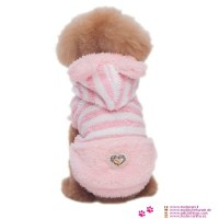 Pink Plush Coat for Small Dog (chihuahua, poodle) shipping ...