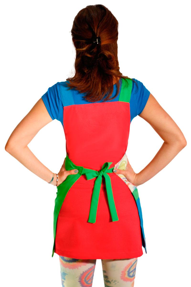 como amarrar una bata para educadora bonita por la parte de atras