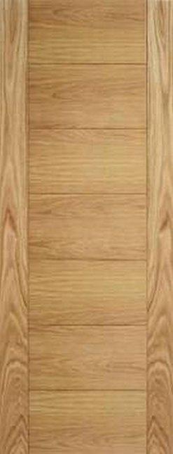 LPD Internal Oak Carini Unfinished Fire Door