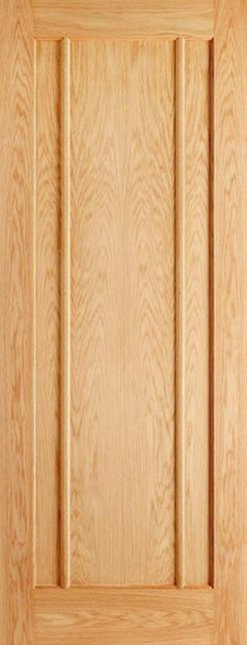 LPD Internal Oak Lincoln 3 Panel Door