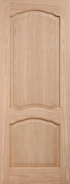 LPD Internal Oak Louis Non-Raised Mouldings Fire Door