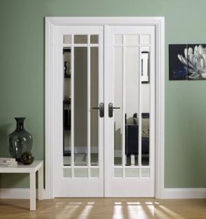 LPD Internal White Manhattan Room Divider Set