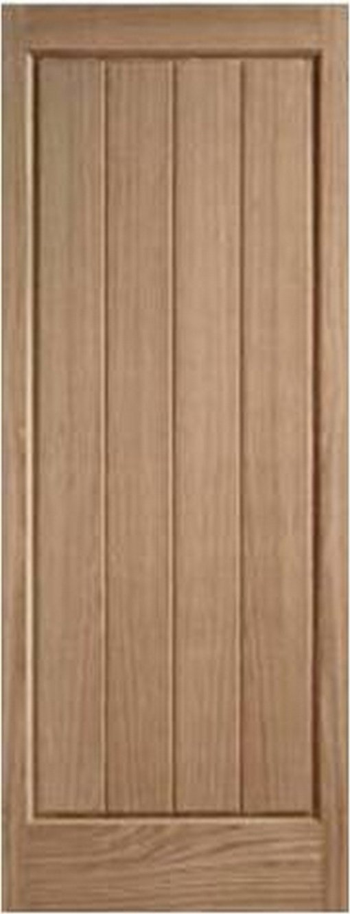 LPD External Oak Epsom Solid Door