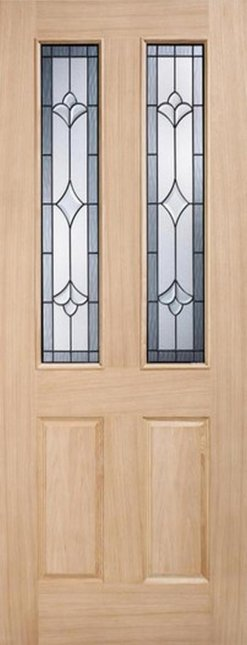 LPD External Oak Salisbury Part L Warmer Door
