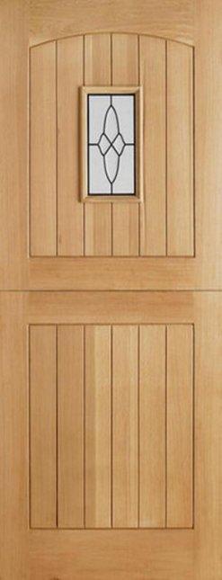 LPD External Oak Cottage Stable I.G Lead Glazed Door