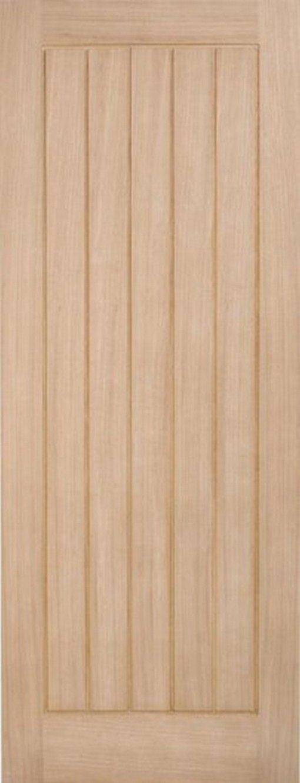 LPD External Oak Geneva Unfinished Part L Warmer Door