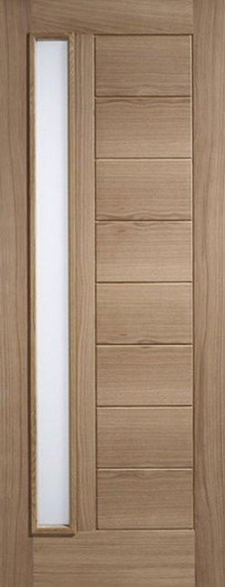 LPD External Oak Goodwood Glazed Door