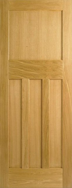 LPD Internal Oak Dx 30S Style Fire Door