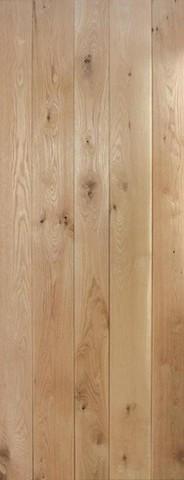 LPD Internal Nostalgia Solid Rustic Oak Framed & Ledged Door