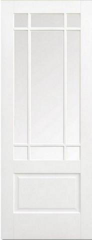 LPD Internal Downham Clear Bevelled Glass Prime Plus Door