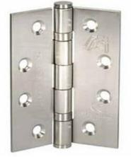 Atlantic Handles External Door Ball Bearing Pair of Hinges in a Stainless Steel Finish