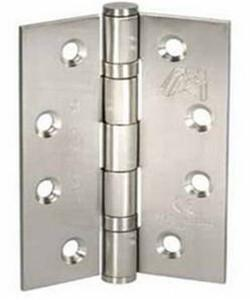 Atlantic Handles External Door Ball Bearing Pair of Hinges in a Stainless Steel Finish