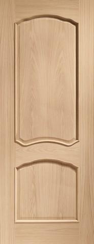 XL Joinery Internal Oak Louis Fire Door with Raised Mouldings Door