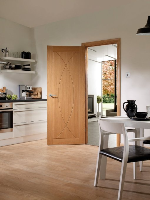 XL Joinery Internal Oak Pesaro Fire Door