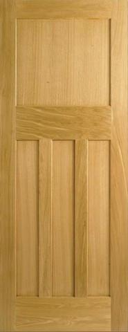 LPD Internal Oak Dx 30S Style Door