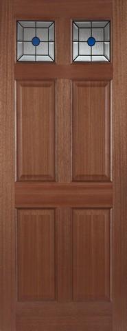 Mendes External Hardwood Colonial Top Light Lead Door