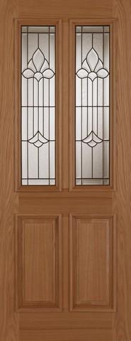 Mendes External Oak Derby Chameleon Door