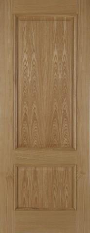 Mendes Internal Oak Iris 2 Panel Fire Door