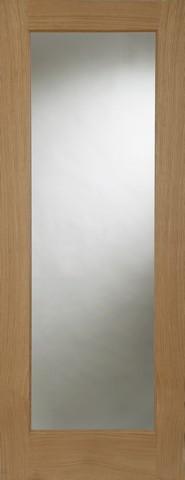 Mendes Internal Oak Pattern 10 Door with clear glass
