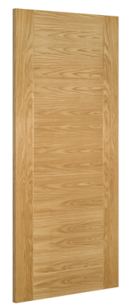 Deanta Doors Internal Seville Unglazed Oak Pre-Finished Door