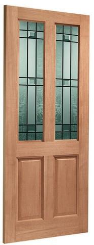 XL Joinery External Hardwood M&T with Double Glazing Malton Door