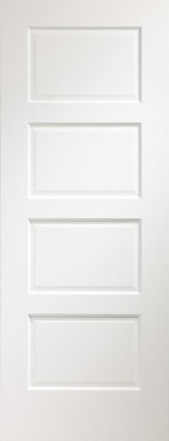 XL Joinery Internal Pre-Finished White Severo Fire Door