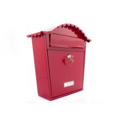 Sterling Post Box MB01 in Red