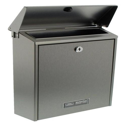 Burg-Wachter Hannover 3861 Ni Post Box in Stainless Steel