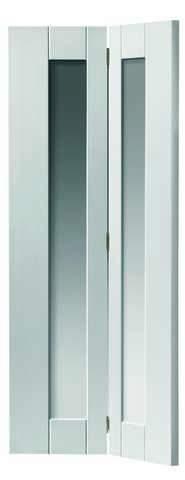 JB Kind Internal White Axis Glazed Bi-Fold Door